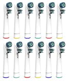 Oliver James Replacement Brush Heads   12 Pack