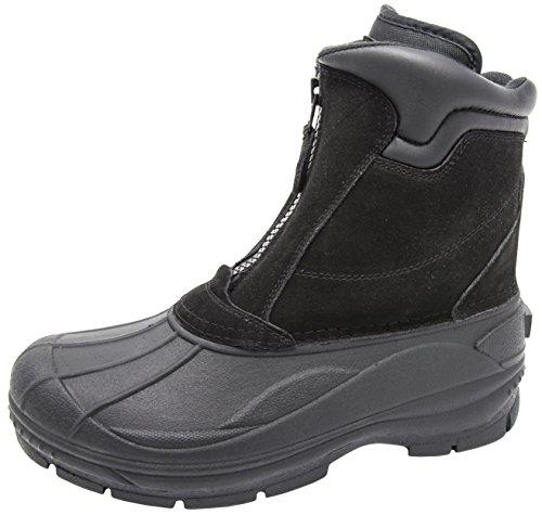 Zip Front Mens Boots - 3