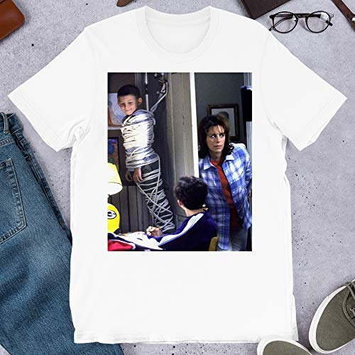 Malcolm in The Middle Lois Loses her Touch Graphic tees Gift Men's Women's Girls Unisex T-Shirt Sweatshirt Hoodie (White-S) (The Mom From Malcolm In The Middle)