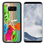 Liili Premium Samsung Galaxy S8 Plus Aluminum Backplate Bumper Snap Case toys for childrens sandboxes against the sea and the beach 28412835