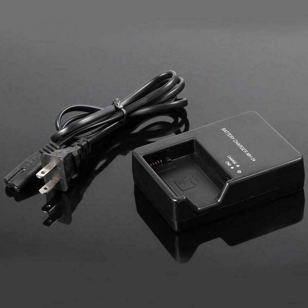 siwetg Cargador De Bater/ía para C/ámara MH-24 para En-el14 P7100 P7000 D3100 D5200 D5100 D3200 D3300 D5300 P7000 P7800 Bater/ía De Litio MH-24