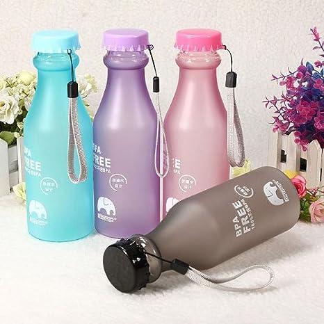 17oz 500 ml sin BPA Ciclismo Bicicleta Deportes botella de agua de ...