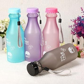 17oz 500 ml sin BPA Ciclismo Bicicleta Deportes botella de agua de plástico.