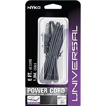 NYKO NYK80017, Playstation2/Xbox AC Power Cord, 6-Feet