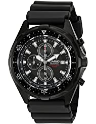 Casio Mens AMW330B-1A Chronograph Diver Inspired Analog Watch