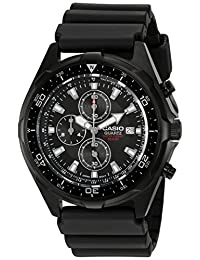 Casio Men's Diver Watch Black AMW330B-1AV