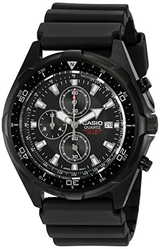 Casio Men's AMW330B-1A Chronograph Diver Inspired Analog Watch