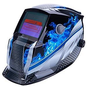 Z ZTDM Welding Helmet Pro Solar Auto Darkening Mask Hood,Adjustable Shade Range 4/9-13,Weld/Grinding Welder Protective Gear Arc Mig Tig,CE EN379 ANSI Z87.1 New Version by Z ZTDM
