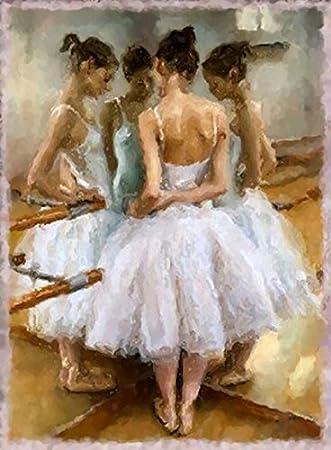 amazon com ballet ballerinas dance impressionism art painting