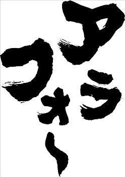 魂心Tシャツ アラフォ~(Mサイズ長袖Tシャツ白x文字黒)