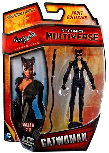 Batman Arkham City DC Comics Multiverse Catwoman 4-Inch Action Figure