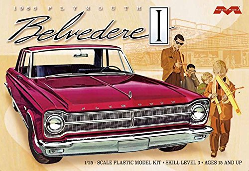 (Moebius Models MOE1218 1965 Plymouth Belvedere (1/25))