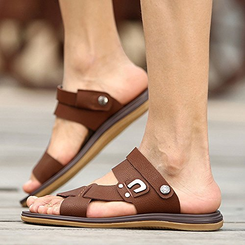 Pantofole Selvatici Sandali Moda Comode Estate Brown Casual 8w0tqnU