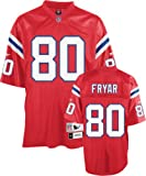 Irving Fryar Red Reebok NFL Premier Throwback New England Patriots Jersey - Medium
