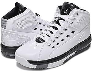 d02c1912143 [317223-113] AIR Jordan OL School Mens Sneakers AIR JORDANWHITE Mtllc  Silver Black