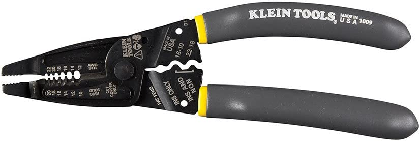 Klein Tools 1009 Multi Tool, Wire Stripper, Crimping Tool, Wire Cutter, Long-Nose Multi-Purpose Electrician Tool