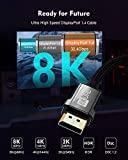 8K DisplayPort Cable 1.4, Silkland DP 1.4 Cable
