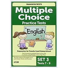 Multiple Choice English 3
