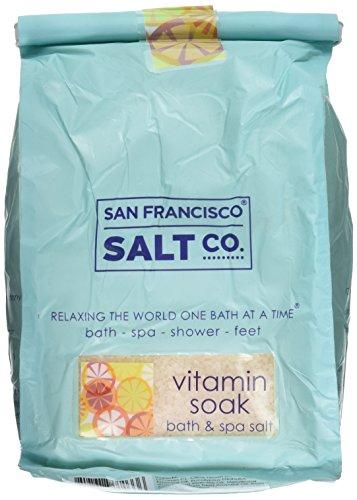 San Francisco Bath Salt Company Cold and Flu Vitamin Soak, 2 Pound