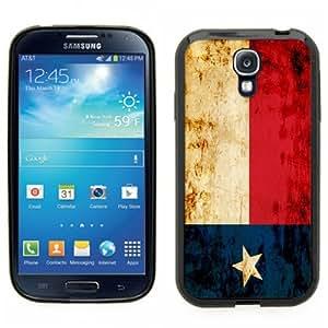 Samsung Galaxy S4 SIIII Black Rubber Silicone Case - Texas State Fag- Houston, San Antonio, Austin