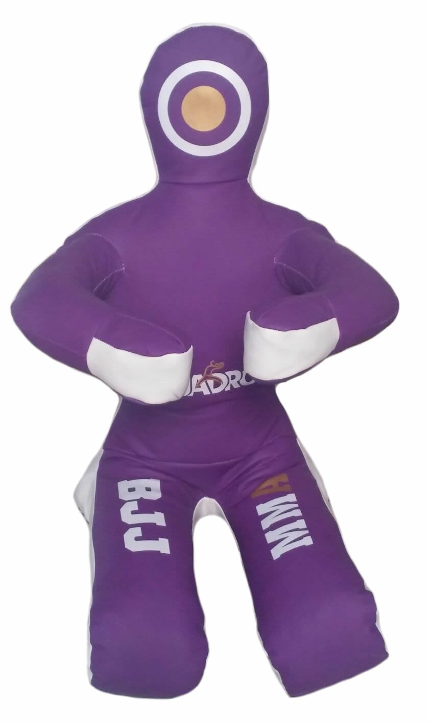 Quadro MMA柔術格闘技トレーニングKick BoxingパープルSitting Position Punching Bag – Unfilled B076W76TTY Synthetic Leather Purple 70 inches (6 ft)