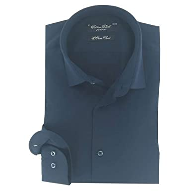 Cotton Park Hemd 'Queens' Blaue Marineblau – Herren, Blau, 2221.028.3416