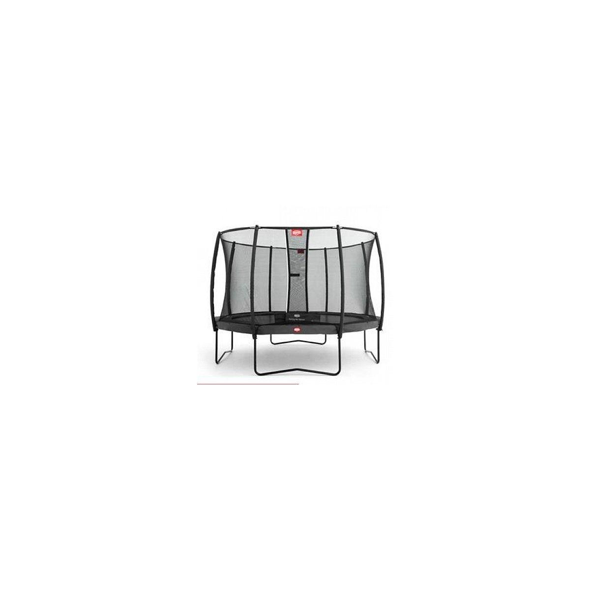 Berg® Trampolin Champion mit Sicherheitsnetz Deluxe, 330 cm, Grau