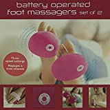 Battery Operated Foot Massagers- Set of 2