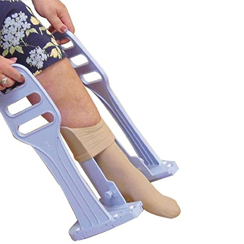 Deluxe Heel Guide Compression Stocking Aid by Ableware