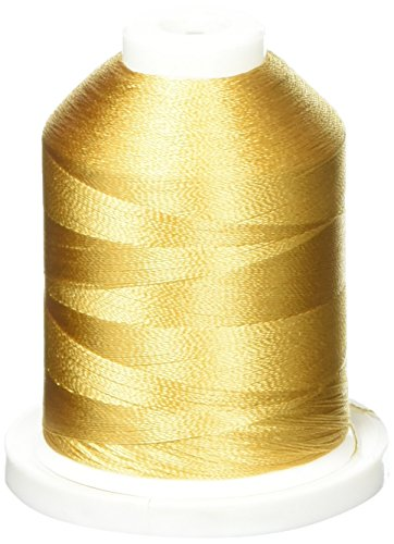Robison-Anton Rayon Super Strength Thread, 1100-Yard, 14 Kt. Gold