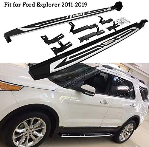"""Premium 4/"""" iBoard Side Steps Fit 11-19 Ford Explorer SUV 4 Door"""