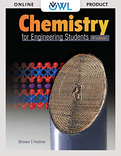 OWLv2 with MindTap Reader with Student Solutions Manual for Brown/Holme's Chemistry for Engineering Students, 4th Edition [Online Code] by Cengage Learning