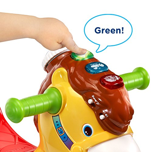 517m5x7 0OL - VTech Gallop and Rock Learning Pony (Frustration Free Packaging)