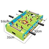 GG-Kinderspielzeug Table Football Machine Desktop Double Football Interactive Game Table 3-10 Year...