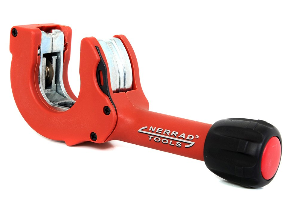 Nerrad Tools NT4035 Adjustable Ratchet Action Copper/INOX Tube Cutter, Red/Black, 12-35 mm Nerrad Limited