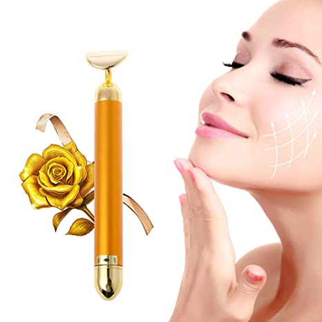 Masajeador Facial Energy Beauty Bar 24K Cara En Forma T ...