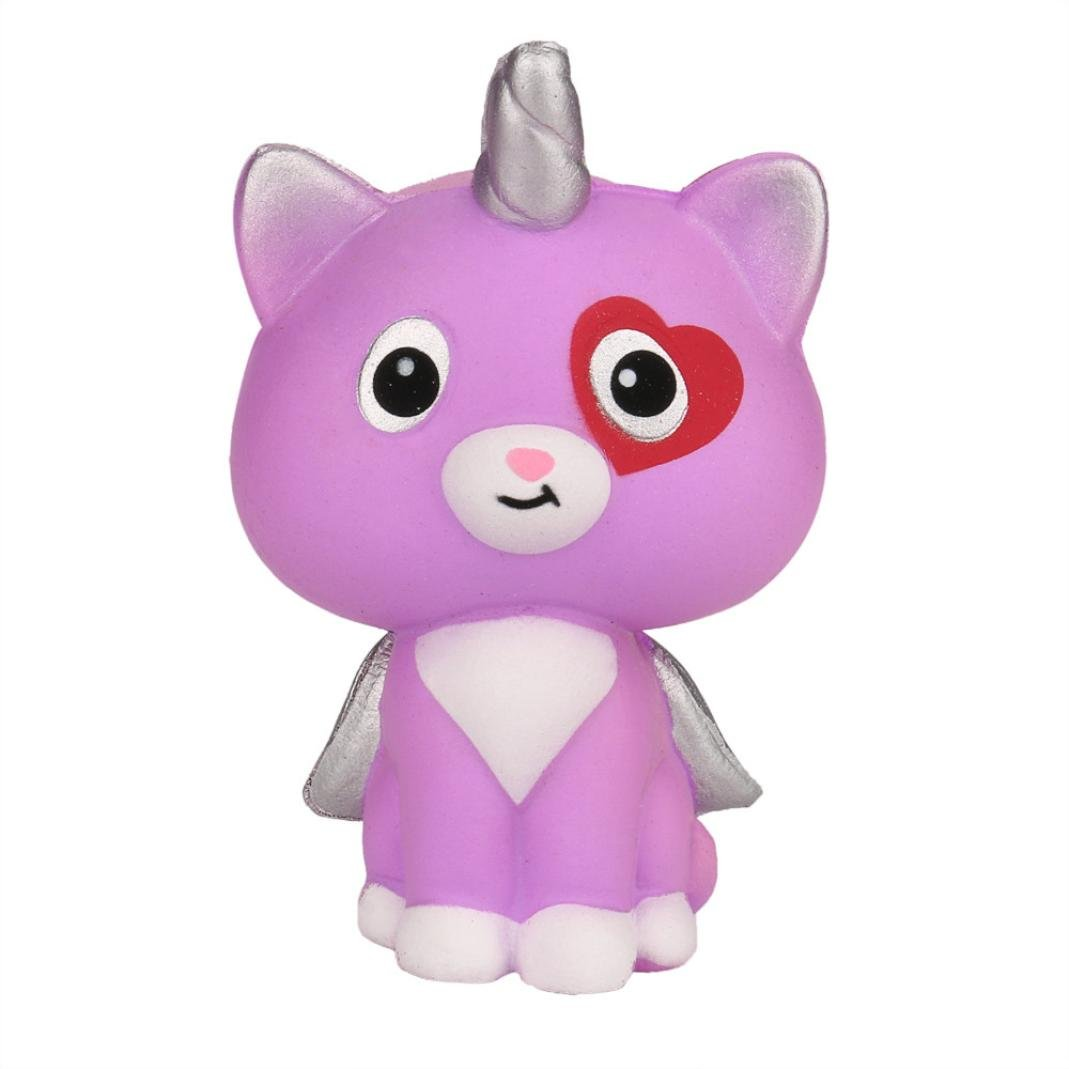 TrimakeShop Squeeze Unicorn Wing Cat Cream Bread Scented Slow Rising Toys Phone Charm Gifts by TrimakeShop (Image #1)