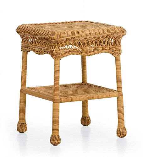 Easy Care Resin Wicker Table