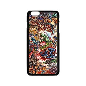 Marvel super hero Phone Case for Iphone 6 by supermalls