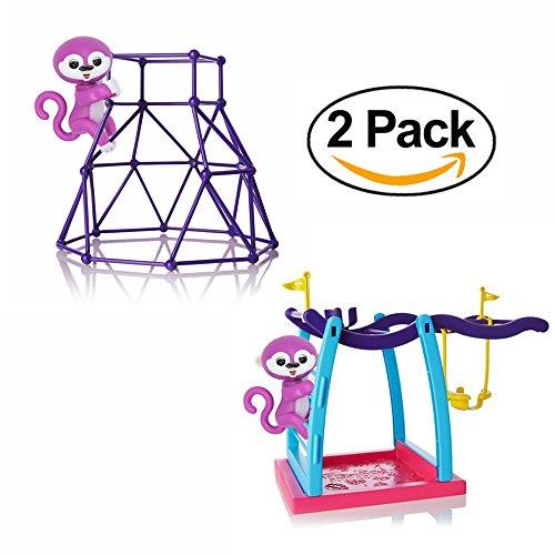 Finger Monkey Playset Jungle Gym Climbing Stand