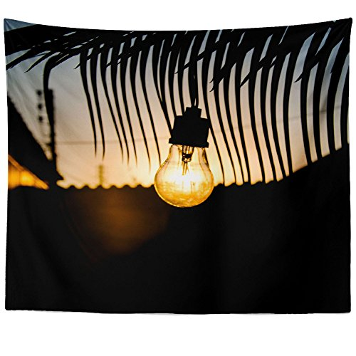 - Westlake Art - Light Bulb - Wall Hanging Tapestry - Picture Photography Artwork Home Decor Living Room - 68x80 Inch (E8F8F)