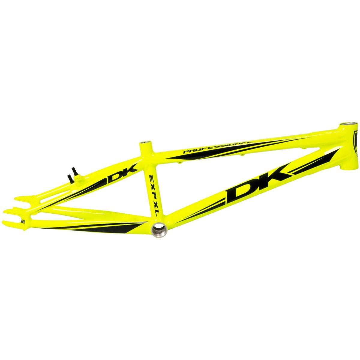 DK profesional V2 BMX Marco Tubo Superior 20,5 en amarillo: Amazon ...