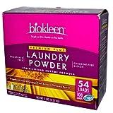 Biokleen Laundry Powder Premium Plus Stain Lifting Enzyme Formula - 5 Lbs (Pack of 8)