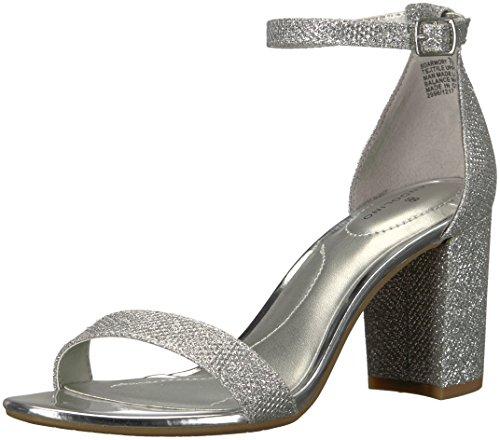 - Bandolino Women's Armory Heeled Sandal, Silver, 8.5 M US