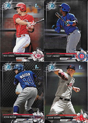 2017 Bowman Chrome Prospects Baseball Cards Complete Set of 150