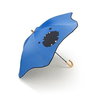 PLL Burbuja paraguas para niños Mango recto Sombrilla ...