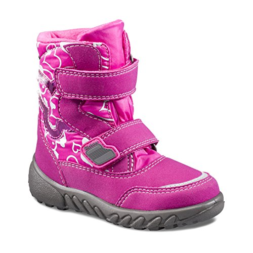Richter Kinderschuhe Mädchen Blinki (Husky) Schneestiefel Pink (Fuchsia)