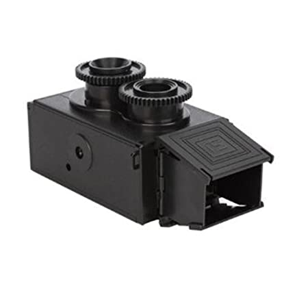 Amazon.es: Retro Camara - SODIAL(R)3.5mm Cine Doble Lente Reflex ...