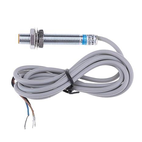 P Prettyia Sensor de Proximidad Inductivos Interruptor LJ8A3-1-Z/BX Detector de