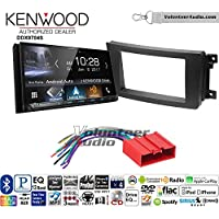 Volunteer Audio Kenwood DDX9704S Double Din Radio Install Kit with Apple Carplay Android Auto Fits 2007-2015 Mazda CX-9